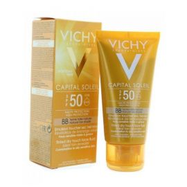 Vichy Αντηλιακή Κρέμα BB Fluid Λεπτόρευστη Υφή-Χρώμα SPF50+ 50ml