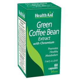 Health Aid Green Coffee Bean Extract Εκχύλισμα Πράσινου Καφέ 60