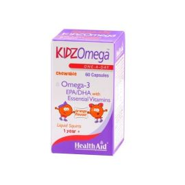 Health Aid KIDZ Omega 60 caps -orange