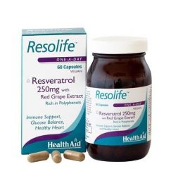 Health Aid RESOLIFE -ρεσβερατρόλη 250mg 60 caps