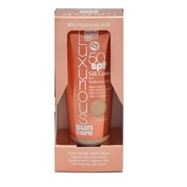 Intermed LUXURIOUS SUN CARE SILK COVER SPF50 75ml with Hyaluroni