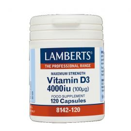 LAMBERTS VITAMIN D 4000iu 120 caps