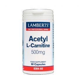 LAMBERTS ACETYL L-CARNITINE 500 mg 60 caps