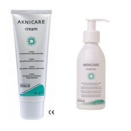 Synchroline Promo ΑΚΜΗ Aknicare Cream 50ml+Cleanser 200ml